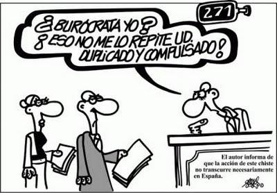 Burrocracia, según Forges