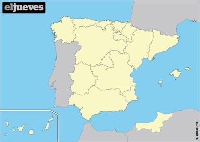 comunidad valenciana, mapa
